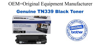 Genuine Brother TN339BK Black Toner Cartridge