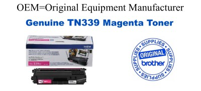 Genuine Brother TN339M Magenta Toner Cartridge