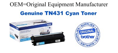 TN431C Cyan Genuine Brother toner