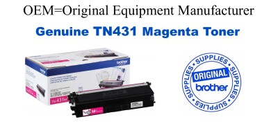 TN431M Magenta Genuine Brother toner