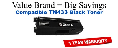 TN433BK Brother Compatible Black Toner