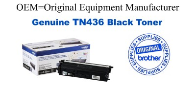 TN436BK Brother Original Black Toner HL-L8360CDW L8360CDWT L9310CDW,MFC-L8900CDW L9570CDW