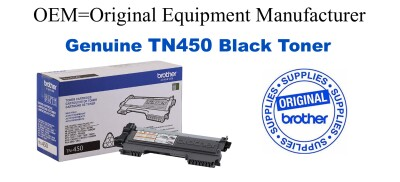 TN450 Black Genuine Brother toner