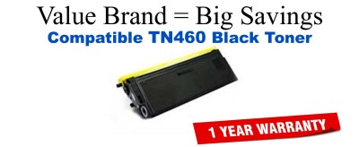 TN460 Black Compatible Value Brand Brother toner