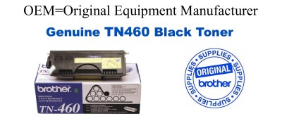 TN460 Black Genuine Brother toner