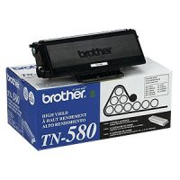 Genuine Brother TN580 Black Toner Cartridge