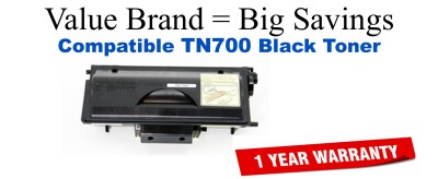 TN700 Black Compatible Value Brand Brother toner