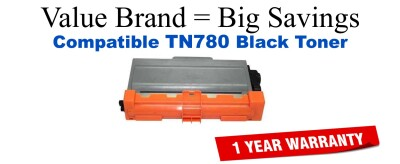 Brother TN780 Black Remanufactured Toner Cartridge