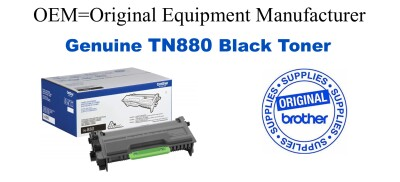 TN880 Black Genuine Brother toner