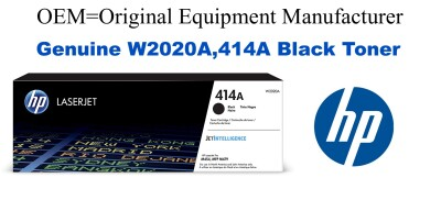 W2020A,414A Genuine Black HP Toner