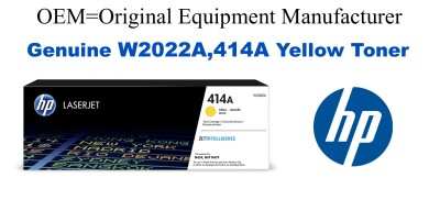 W2022A,414A Genuine Yellow HP Toner