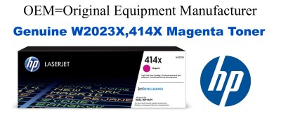 W2023X,414X Genuine High Yield Magenta HP Toner