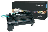 Genuine Lexmark X792X2KG Black Toner Cartridge (20,000 Yield)