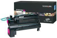Genuine Lexmark X792X2MG Magenta Toner Cartridge (20,000 Yield)