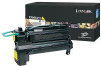 Genuine Lexmark X792X2YG Yellow Toner Cartridge (20,000 Yield)