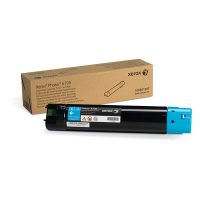 Genuine Xerox 106R01507 Cyan High Yield Toner Cartridge