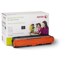 Xerox Brand Black Toner Cartridge (Alternative for HP CE270A 650A) (14200 Yield)