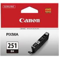 Genuine Canon CLI251 Black Ink Cartridge