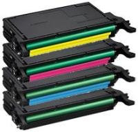 Remanufactured All 4 Colors toner for use with CLP-770 Samsung model
