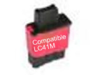 Brother LC41 Magenta Remanufactured Ink Cartridge