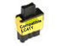 Brother LC41 Yellow Remanufactured Ink Cartridge