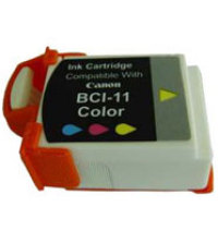 Remanufactured canon inkjet for bci11c color