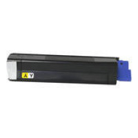 Okidata 43034801 (Type C6) New Generic Brand Yellow Toner Cartridge