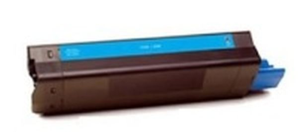 Okidata 43324403 (Type C8) New Generic Brand Cyan Toner Cartridge