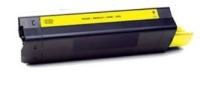 Okidata 43324401 (Type C8) New Generic Brand Yellow Toner Cartridge