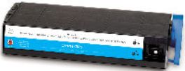 New Generic Brand Cyan Toner Cartridge, replaces Okidata c7200,c7200n,c7400dxn,c7400n