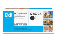 New Original HP 308A Black Toner Cartridge (Q2670A)