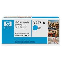 New Original HP 309A Cyan Toner Cartridge (Q2671A)