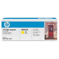 New Original HP 122A Yellow Toner Cartridge (Q3962A)